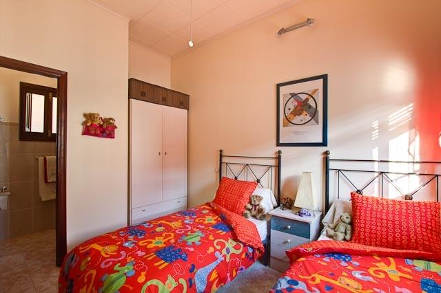The twin bedroom perfect for children or two adults