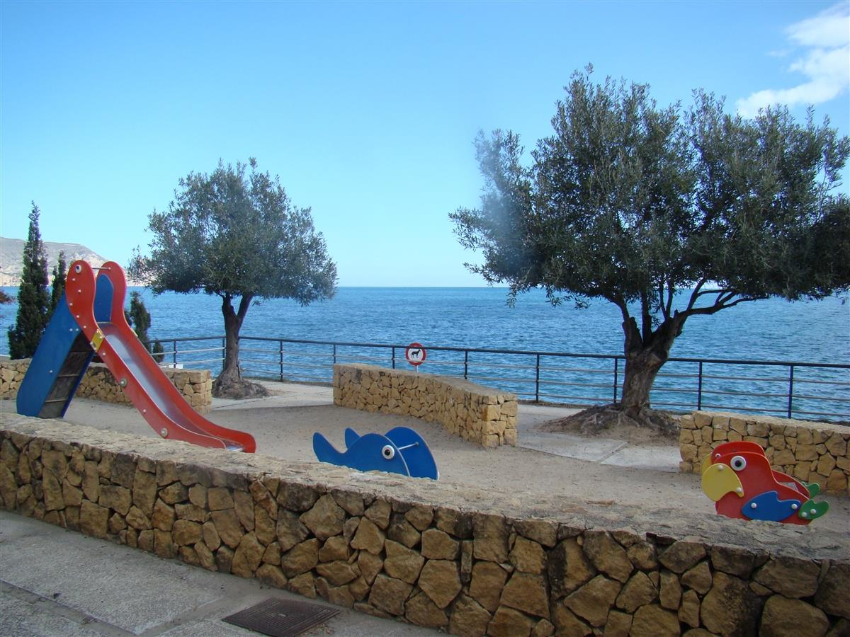Fantastic playpark close to the sea