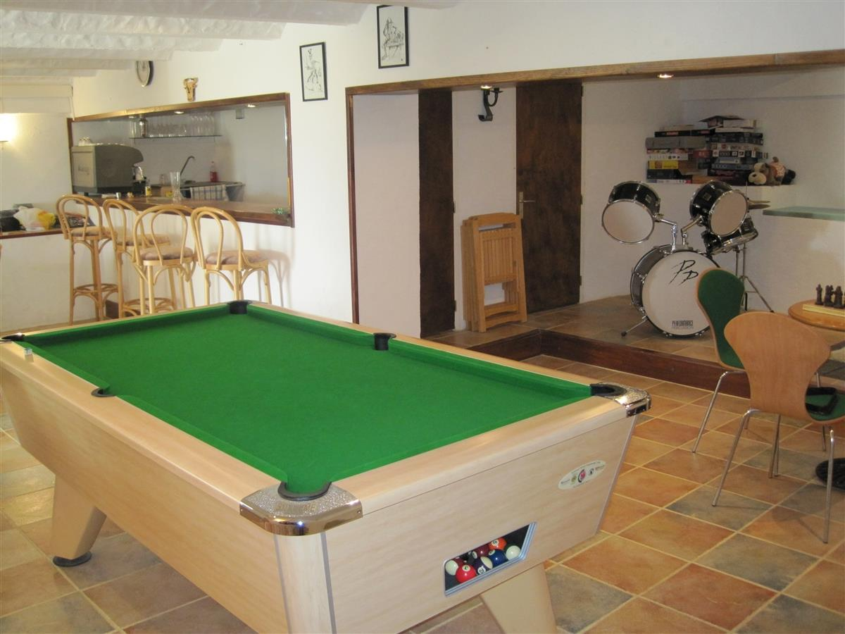 Exclusive Use of Games Room