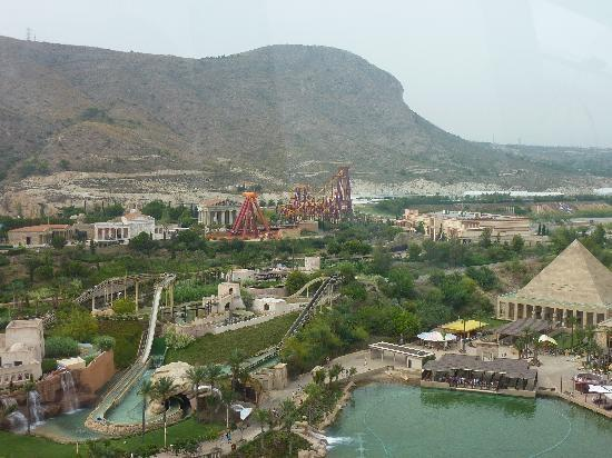 Terra Mitica theme park in Benidorm.  Fun for all the family!