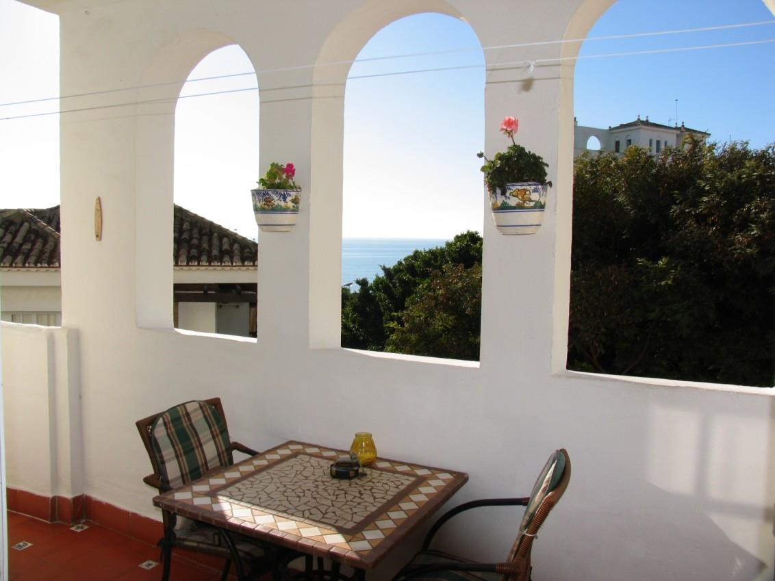 Lovely terrace with outstanding seaviews!