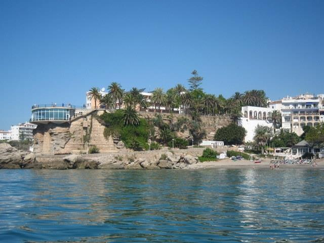 The fanous Balcon de Europa, Nerja