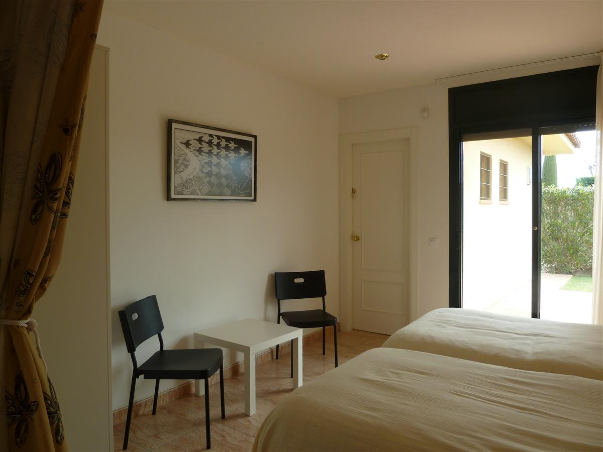 Bedroom nbr. 3, situated at the frontside of the house