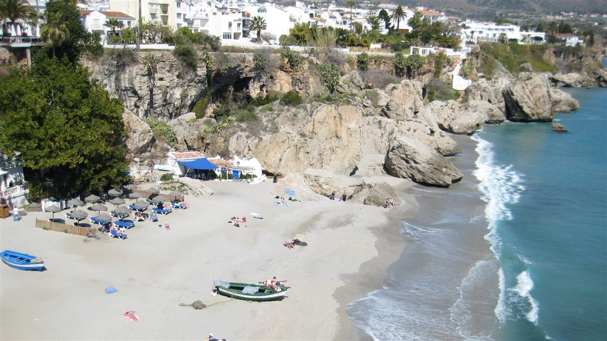 beach in Nerja