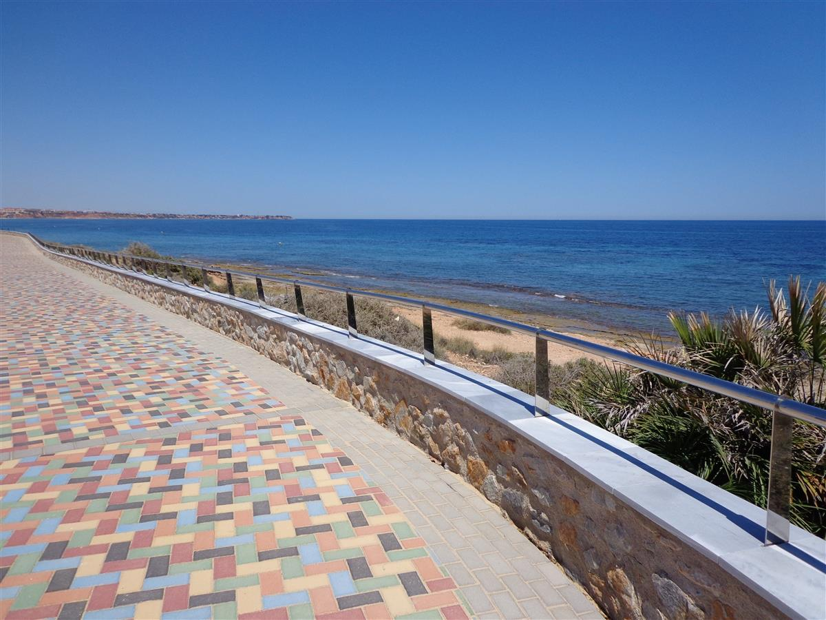 Take a stroll along the walkway from the beach to the Marina.