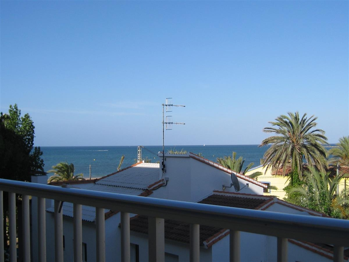 Sea view from left-hand side of the terrace