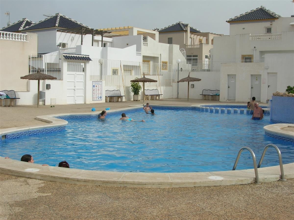 Nearby communal pool