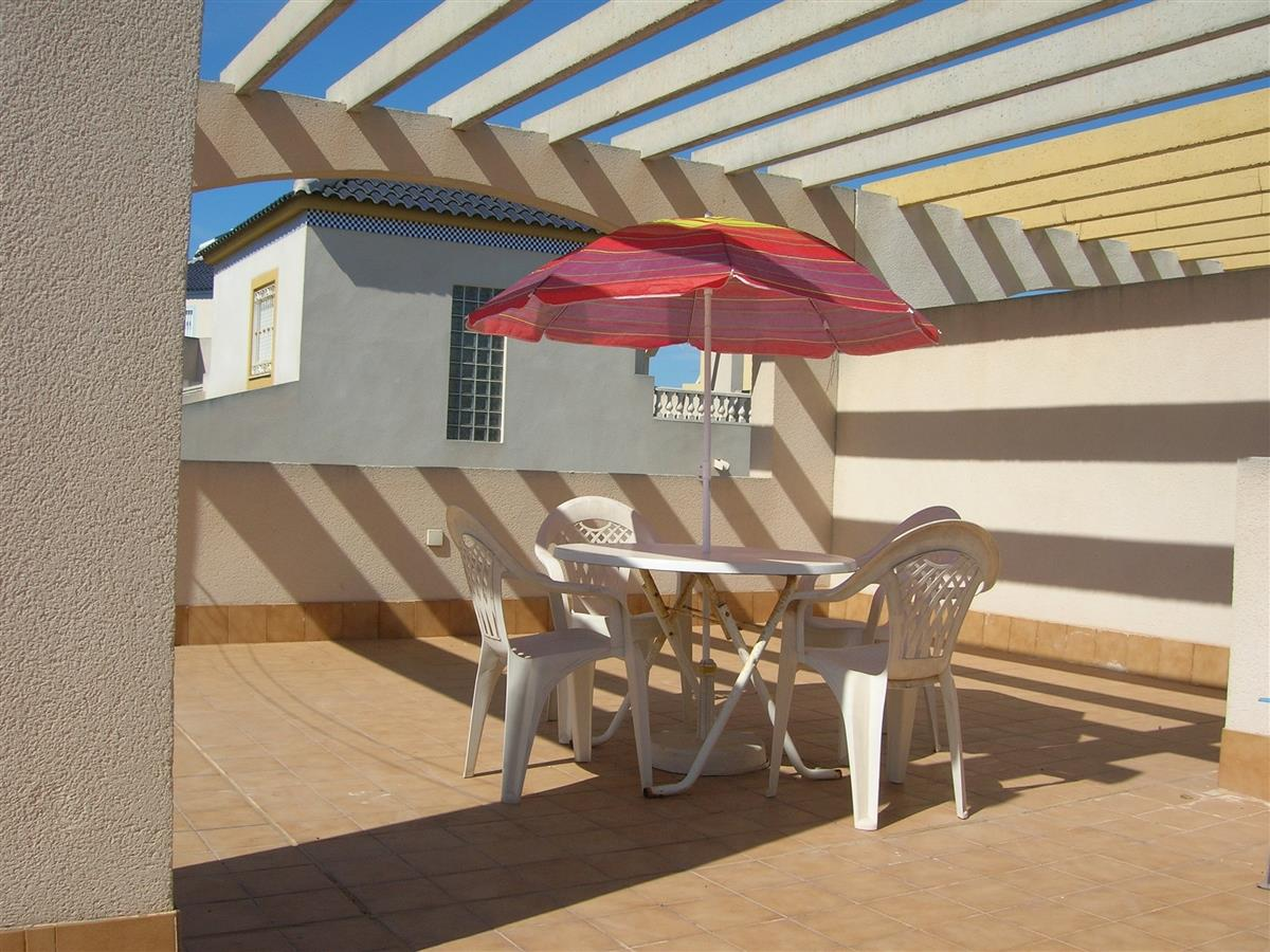 Solarium Patio area