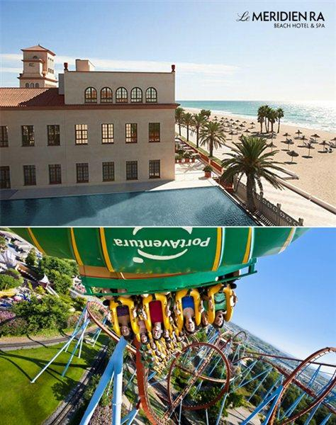 Le Meridien Spa and the Portaventura are just a breath away