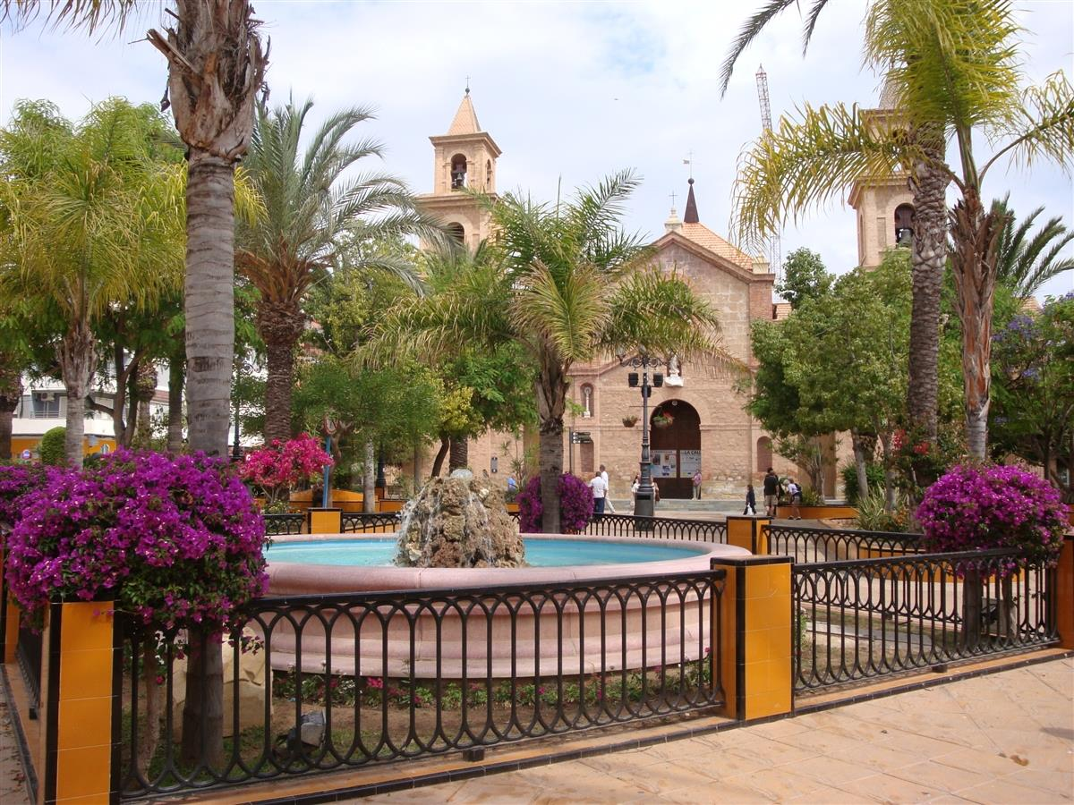 The main square Torrevieja