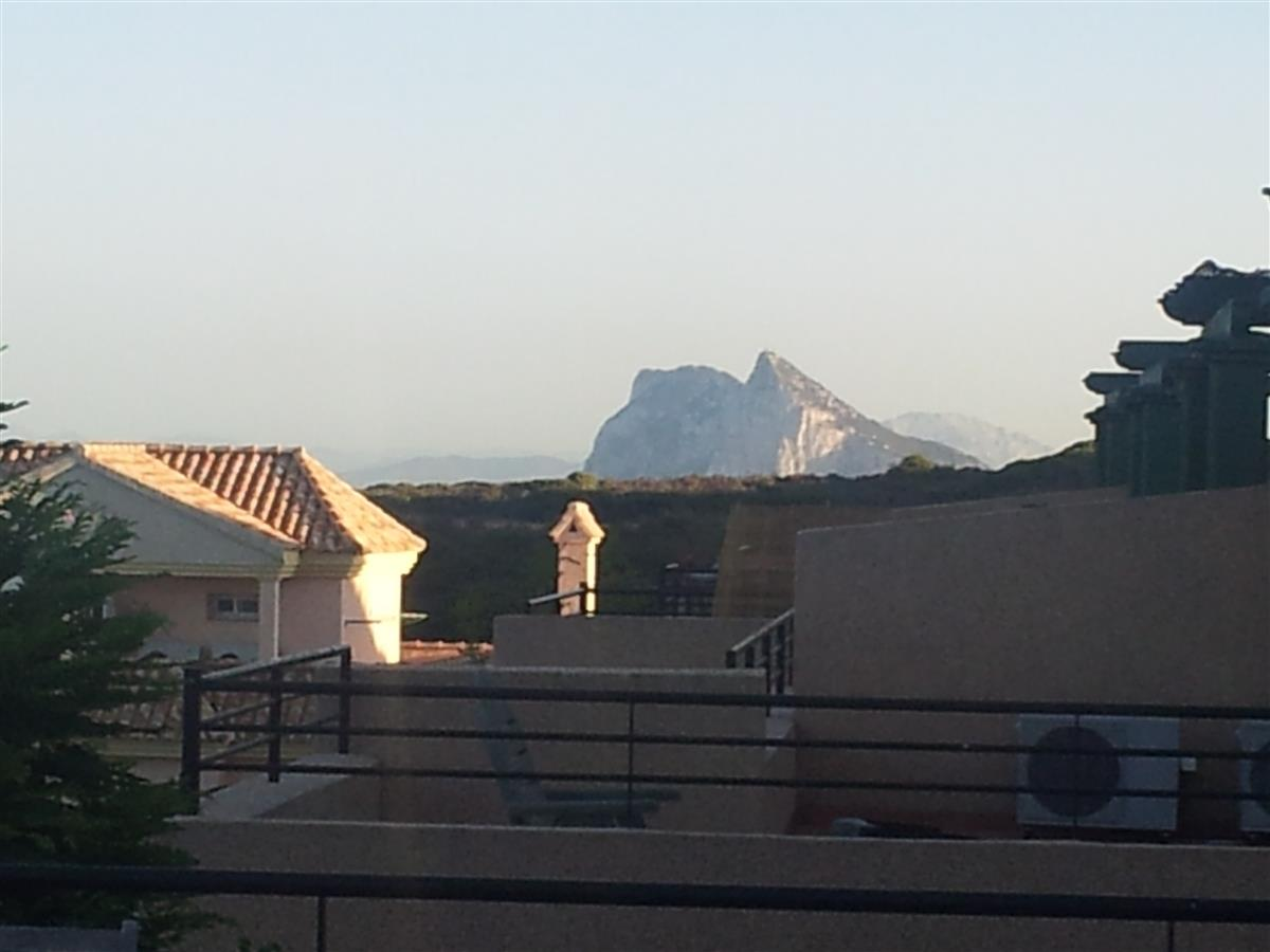 View of Gibraltar from Terrace