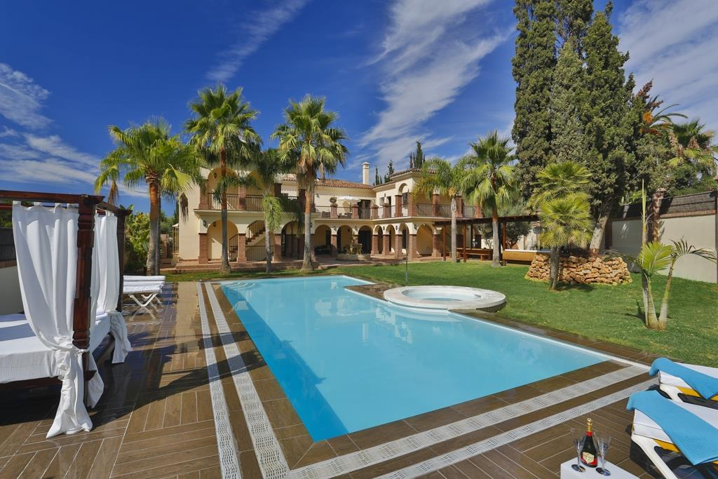 Holiday Mansion For Rent In Marbella Marbella Vacation