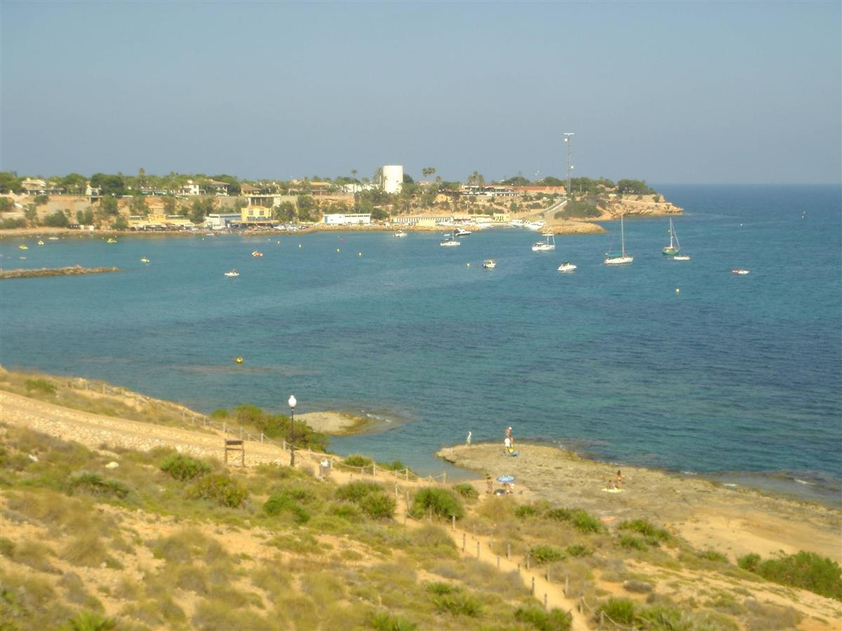 View of the Marina and restaurants form the walking promenade