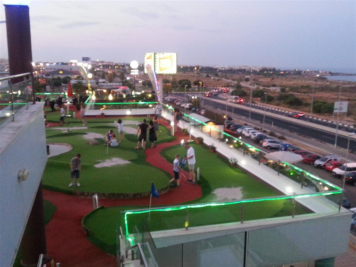 Mini Golf at The La Mosca centre Playa Flamenca