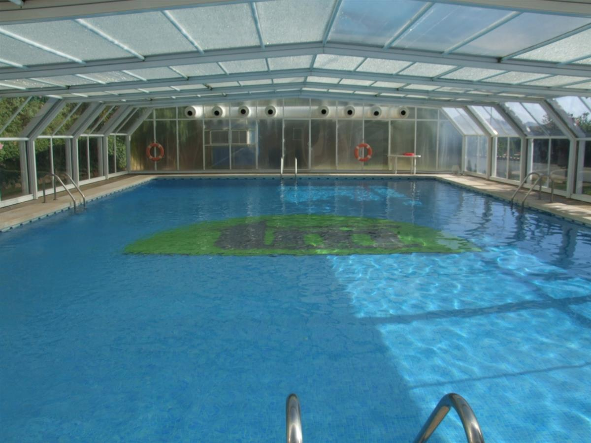 Heated pool available during winter.