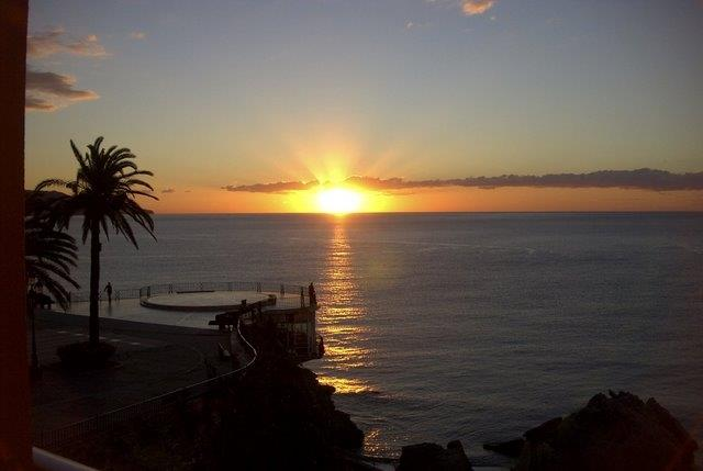 Sunrise  in Nerja