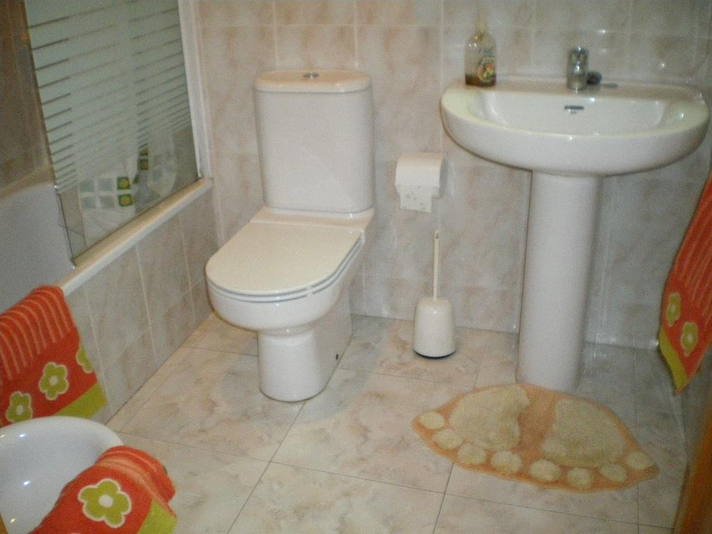 Bath and shower en-suite