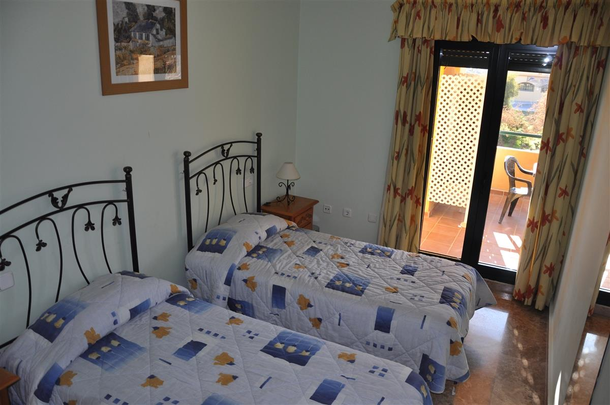Spacious room with direct access to the very large terrace
