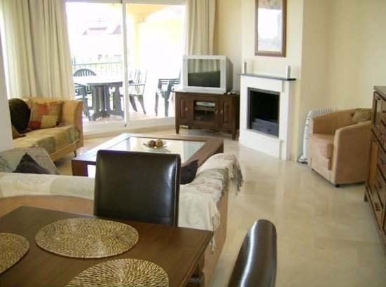 Nicely furnished lounge with dining area. air-conditioning. SAT TV
