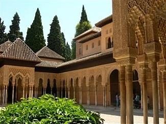 Visit the stunning Alhambra Palace in Granada