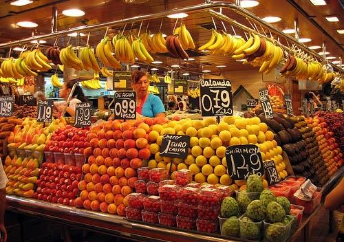 You can also go to the markets of Barcelona