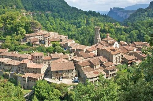 The exiting village of Rupit is only 19 km away