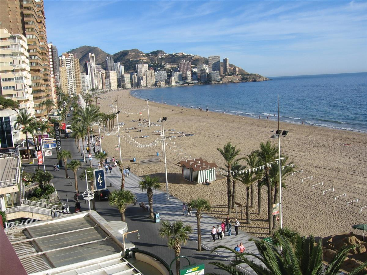 view from the apartment towards Rincon de Loix