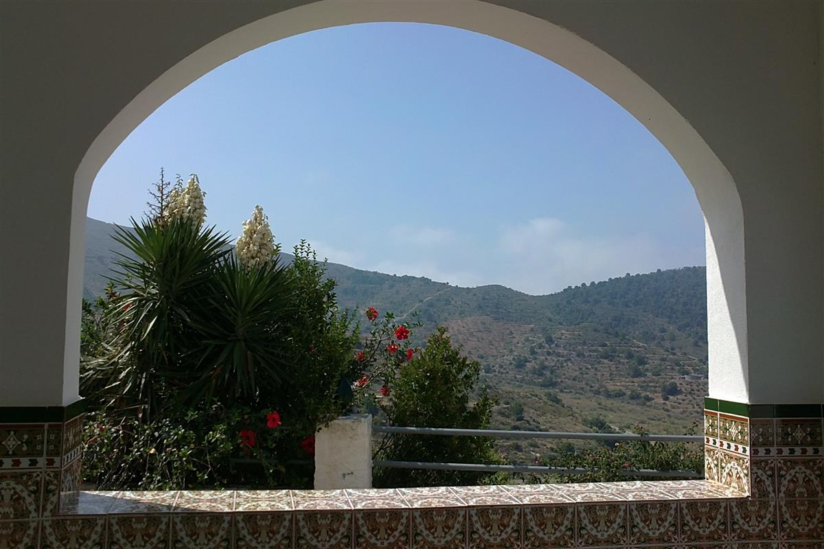 View through Terrace Arch