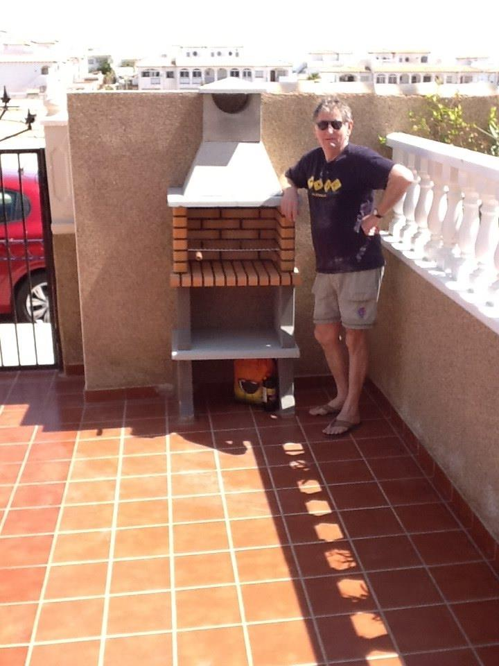 The new BBQ.(chef de bbq not included)