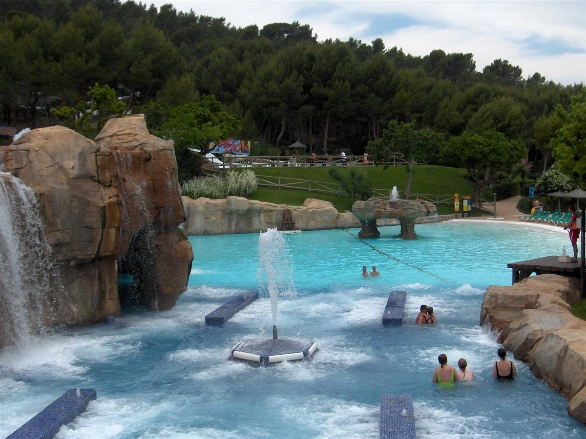 Aqualandia, one of Europes largest waterparks (Benidorm)