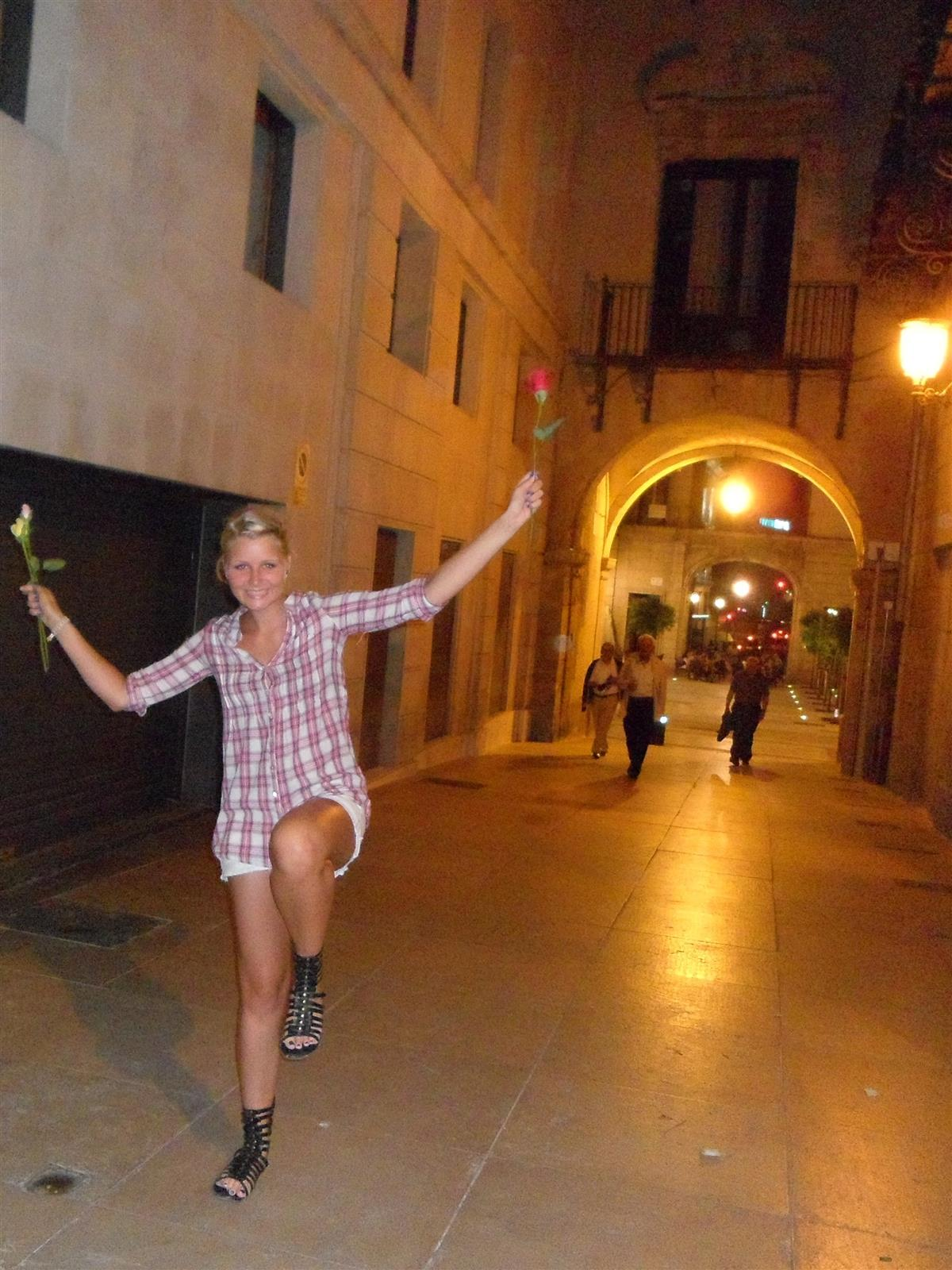 Dancing in Alicante