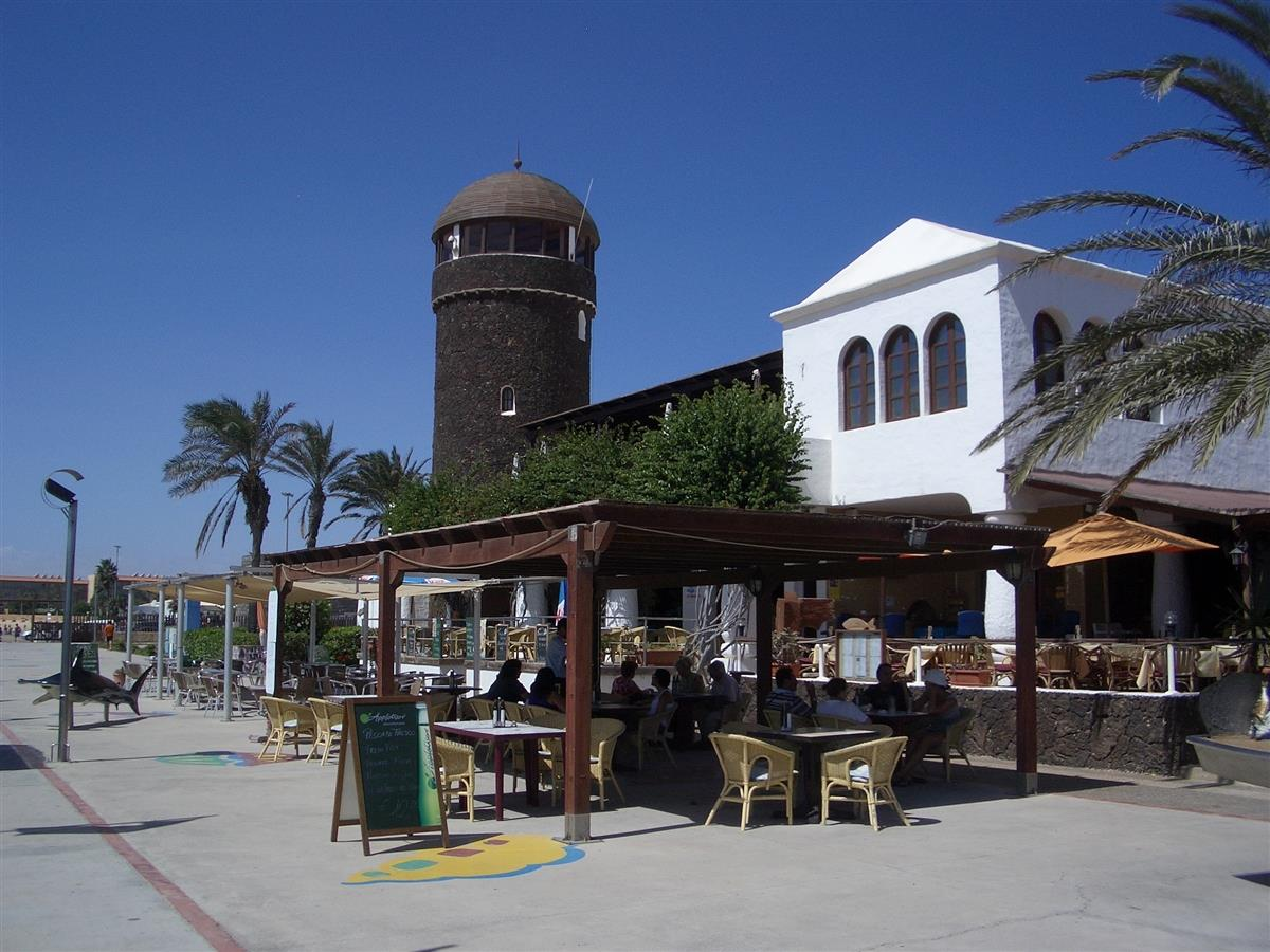 Caleta - Restaurant overlooking the harbour
