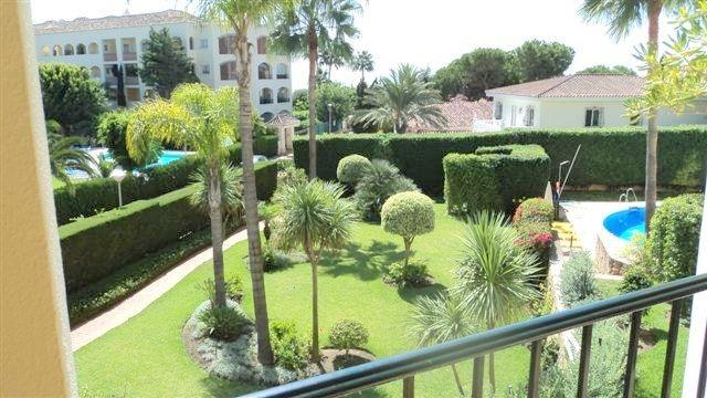 Beautiful gardens with exit to beach way (100mts)