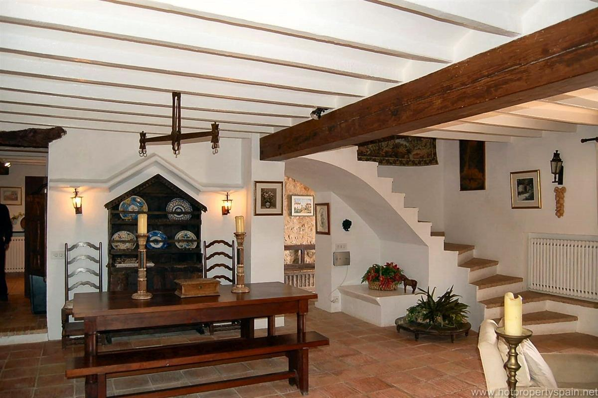Stairs leading to bedrooms.