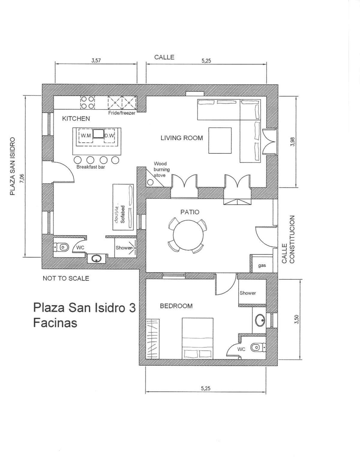 Layout of the property
