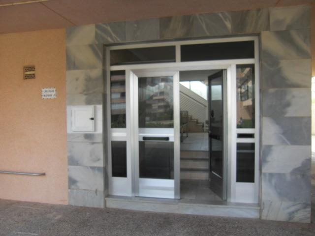 Main Entrance to Las Ocas Apartment Block