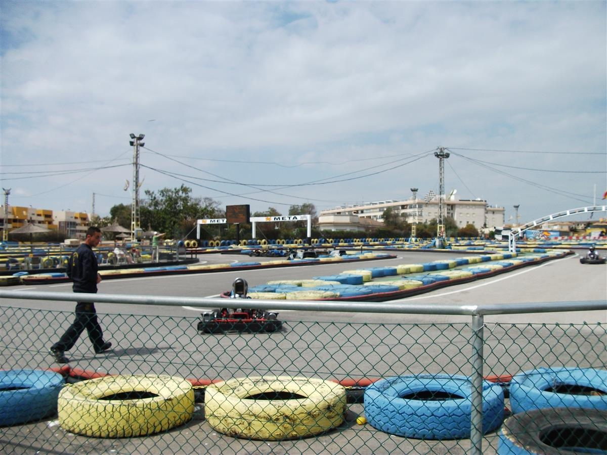 Go Kart for all ages with massive track