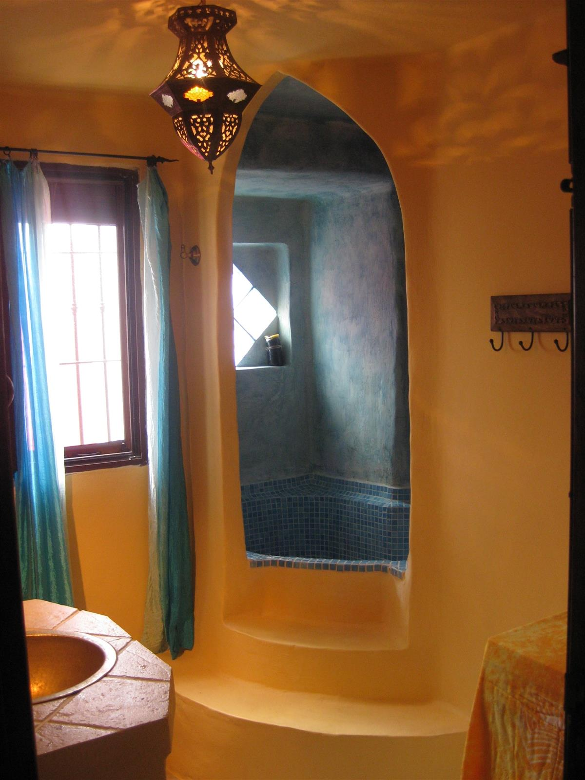 Moorish style Bathroom upstairs