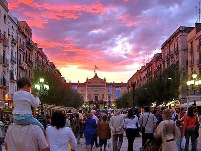 Tarragona has exiting walking streets with shops and resturants