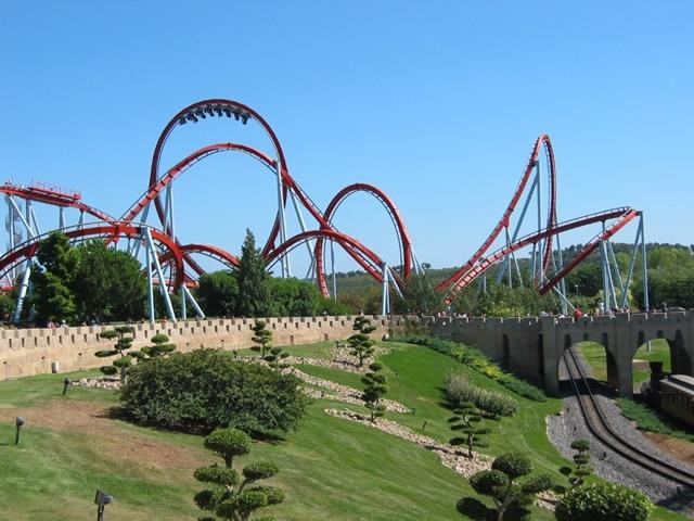 Port Aventura - one of the best amusement parks in the world