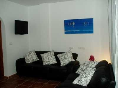 Lounge with LCD TV
