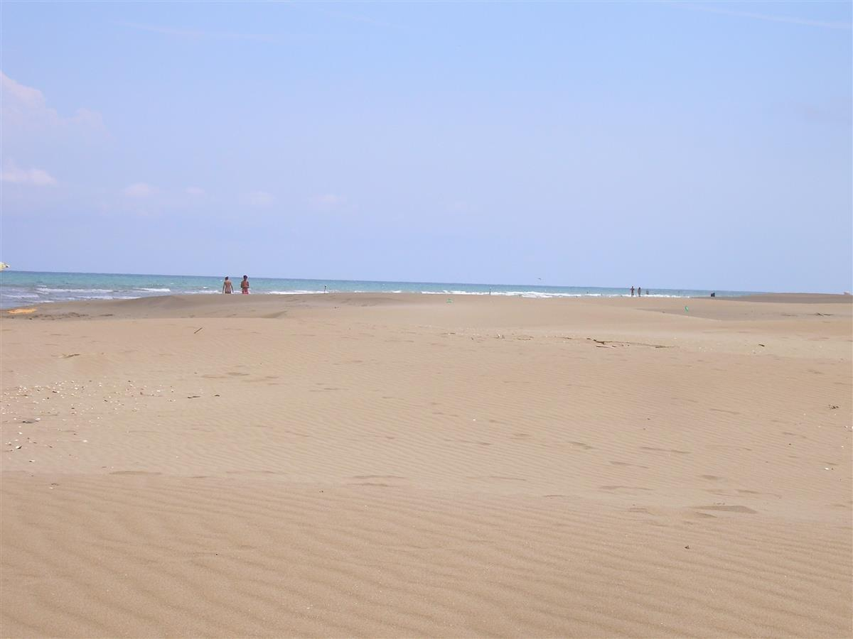 One of the unspoilt beaches of Serra d.irta Natural Park