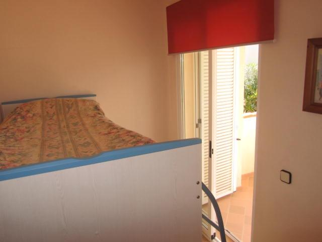 bedroom 3 has bunk beds,storage ,private balcony