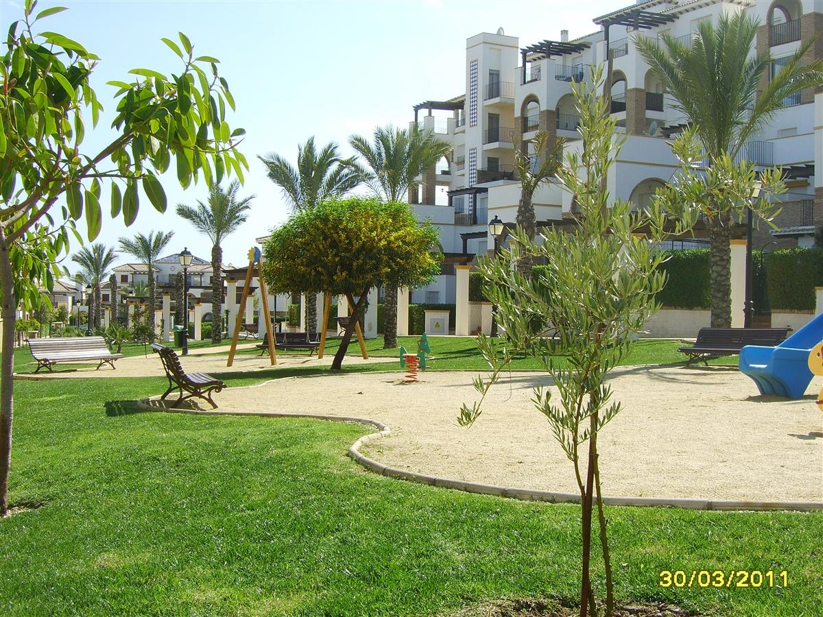 One of the childrens play areas near the apartment