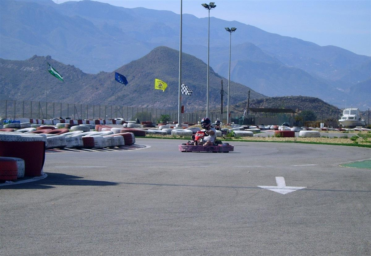 Go-Karting at Garrucha for the young or the Boy Racer