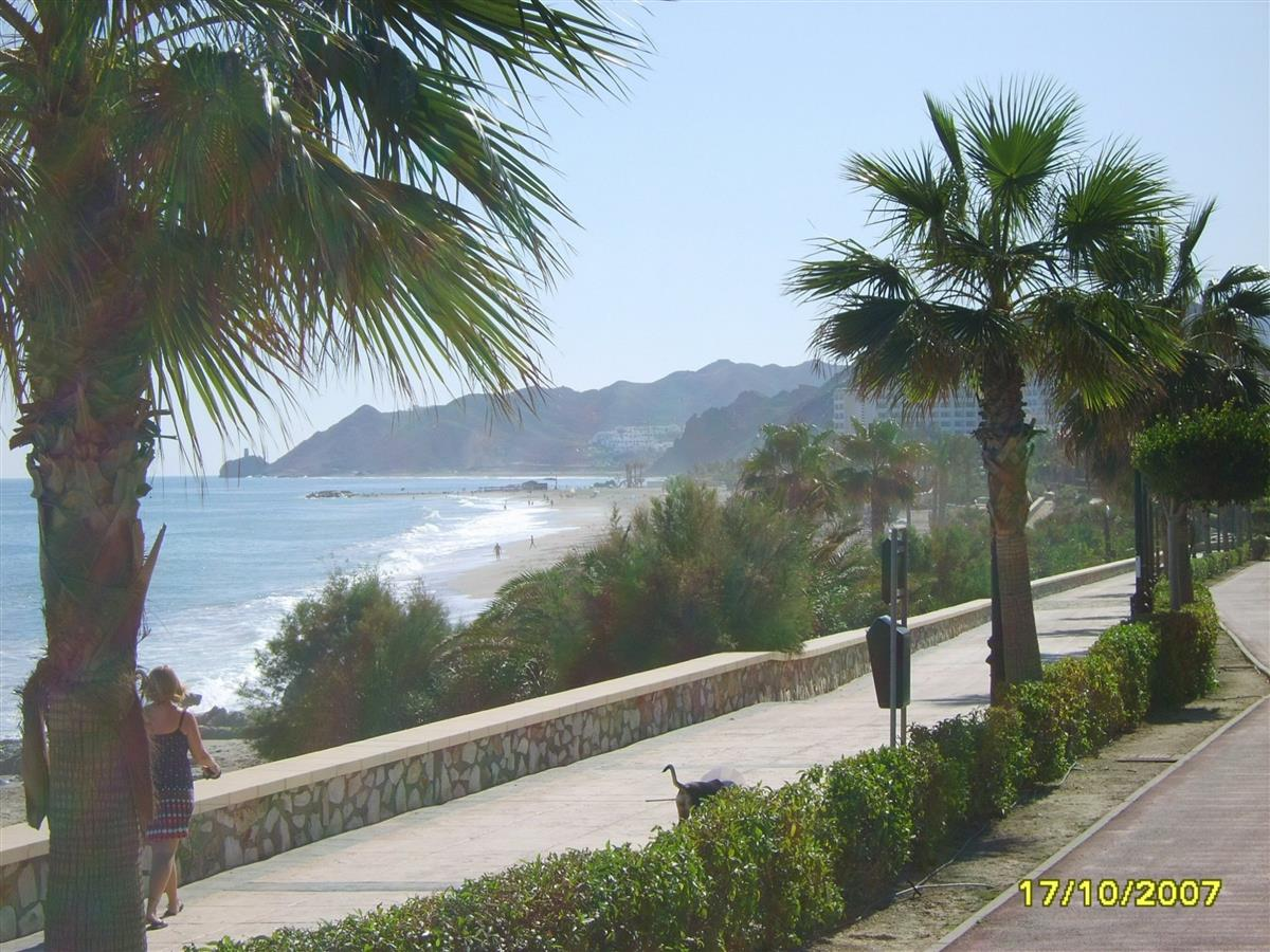 A walk along Mojacar Playa Promenade