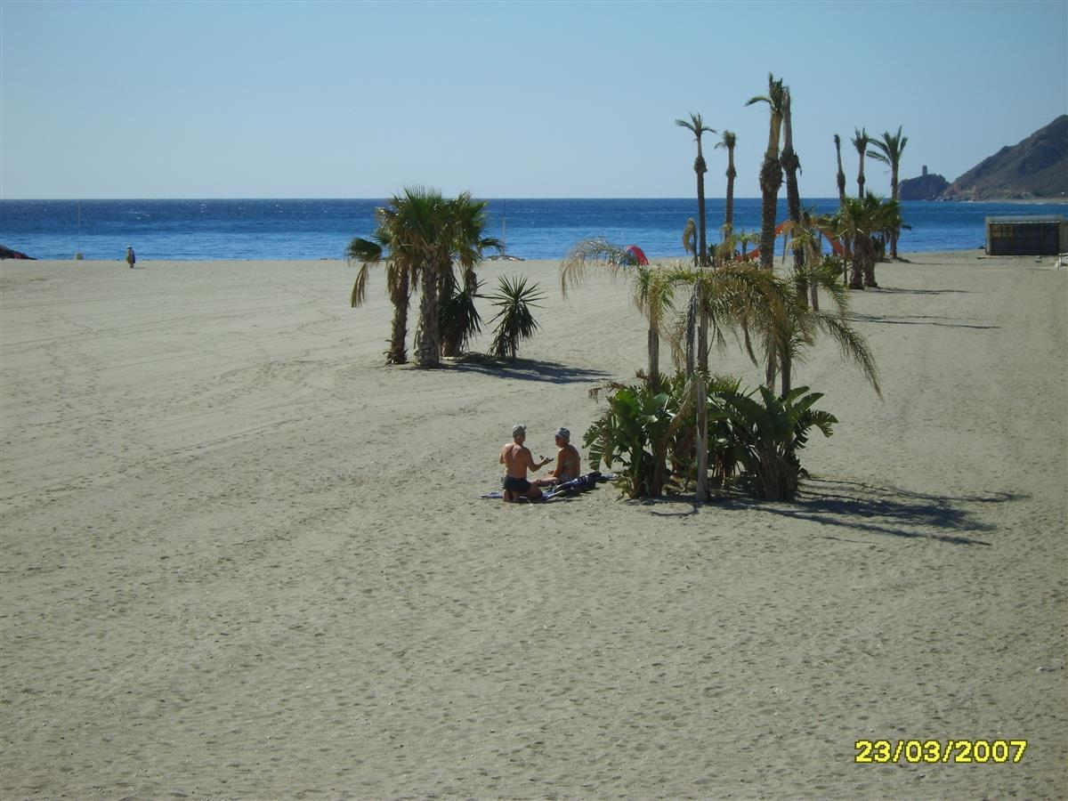 A view of Mojacar Playa (beach)