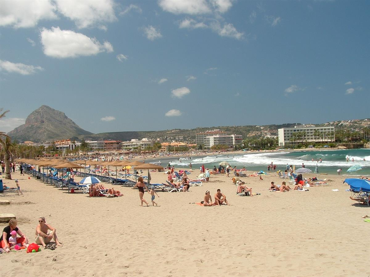 The Beach at Javea - only 15 mins away
