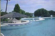 The nearby pool complex of Font Nova.