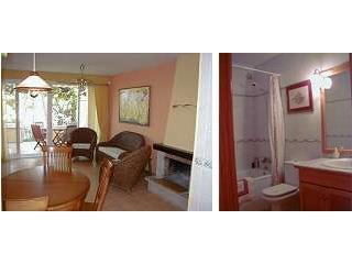 Living room and bathroom